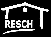 Resch Logo weiß